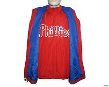 """Majestic """"Philadelphia Phillies"""" 3-in-1 Triple Climate On-Field Men's Jacket (L)"""