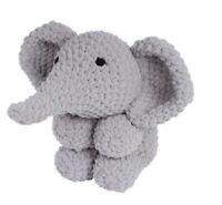 Knitty Critters Ollie Elephant Complete Crochet Kit 300g Bernat Blanket yarn