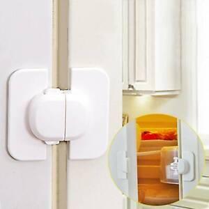 Baby Child Kid Safety Lock Fridge Door Box Drawer Cupboard Cabinet Wardrobe Safe