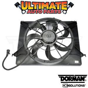Radiator Cooling Fan for 09-14 Hyundai Genesis (4 Door Sedan)