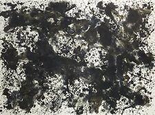 Sam Francis - Dark Plated - Original Limited Edition Lithograph Print 1973