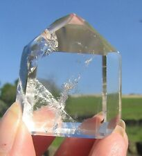Clear Quartz Crystal Channeling Point - Stunning - Water Clear AAA Grade 104g 5