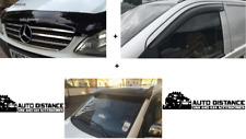 Mercedes Vito 639 Sun visor,bug guard and Wind-rain deflector set