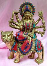 Durga Maa / ambe maa  Statue In Brass 12 Inches Height Idol  USA Seller