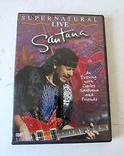 DVD SANTANA,SUPERNATURAL LIVE