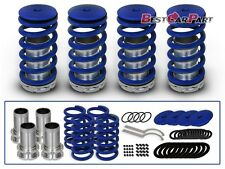 BCP BLUE 95-98 Eagle Talon 2.0 Coilover Lower Coil Springs