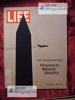 LIFE January 31 1969 Jan 1/31/69 RICHARD NIXON INAUGURATION ANNE HEYWOOD +++