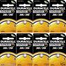 Duracell 391 381 AG8 Watch Batteries 8 Pcs