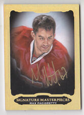 14-15 UD Ultimate Max Pacioretty Auto SIGNATURE MASTERPIECES Canadiens 2014