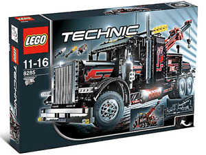 Lego Technic 8285 Tow Recovery Truck Rare