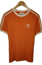 Adidas Originals X-Small Ringer T-Shirt Crew Neck Holland Dutch Orange 18in Pit