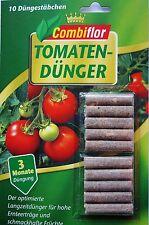(EUR 3,97/100g) Combiflor Düngestäbchen  Tomaten 35 gr./10 Stück Langzeitdünger