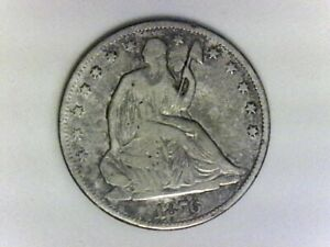 1876 Seated Half Dollar Free shipping inside the USA