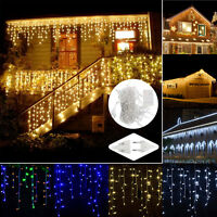 3M 4M 5M String Fairy Lights Indoor/Outdoor Curtain Xmas Christmas Party Decor