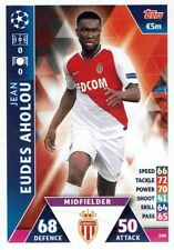 Topps Match Attax Champions League Card No. 298 Jean Eudes Aholou as Monaco