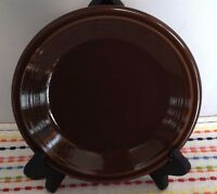 Fiestaware Chocolate Salad Plate Fiesta Retired 7 1/4 inch Brown Small Plate