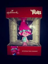 Hallmark Trolls Poppy Red Box Christmas Tree Ornament