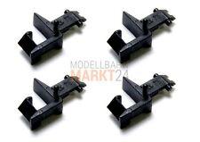 4 x FLEISCHMANN 9525 Standard-Steckkupplung für NEM-Normschacht Spur N - NEU