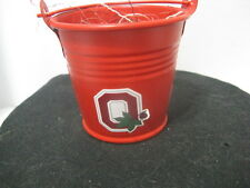 Small Pail ~ Ohio State Buckeyes ~ **Gift Idea