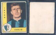 R@RA FIGURINA CALCIATORI PANINI 1961/62-INTER,ZAGLIO-DA RECUPERO