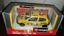 Modellino Renault Clio Cup '98, Burago 1:43 made in Italy