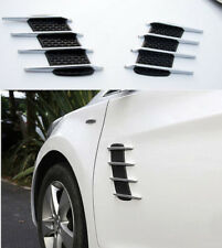 2x AUTO Accessories Decoration Simulation Shark Gill Inlet Car Side 3D Decals G