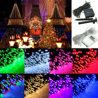 10-100LED Battery Operated/Solar Fairy String Light Wedding Christmas Party