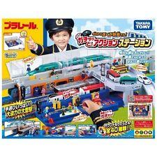 Takara Tomy Tomica Plarail Plarail Set - Big Achen Station Playset Toy Japan