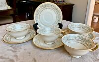 Lenox Noblesse Tea Coffee Cup and Saucer Set of 4