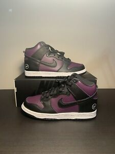 Nike SB Dunk High Fragment Design Beijing Purple Wine DJ0382-600 Size 9