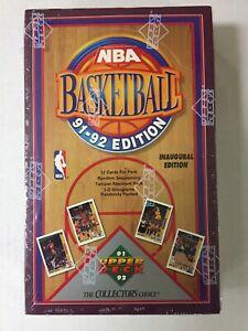 1991/92 Upper Deck Series 1 Basketball NBA WAX BOX Unopened Hobby