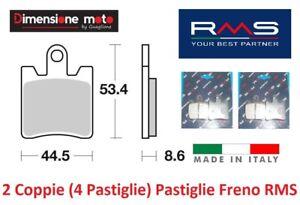 0380 - 2 CP Pastiglie Freno Anteriori RMS per YAMAHA FJR 1300 AE dal 2014 >2018