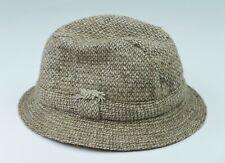 Chapeau en donegal tweed t 58 DAVID HANNA & Sons irish fishing grouse hat 7 1/8