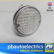 Camelot Automotive Round Rear/Reverse Lamp LED White Lens - CRRL 100