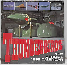 "1991 Thunderbirds Calendar - Gerry Anderson - 12"" x 12"" - SEALED!"