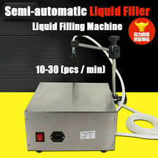 Commercial Semi-automatic Water Liquid Filling Machine Liquid Filler10-30pcs/min