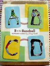New Teaching Educational Learning B is for BASEBALL ABC Alphabet Cards Sealed