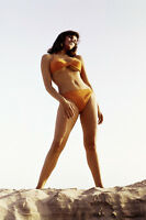 RAQUEL WELCH 24X36 POSTER ICONIC SEXY PIN UP STANDING ON BEACH HILLSIDE