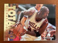 1995-1996 Michael Jordan Fleer  Total D  #3  Insert Foil Card Bulls Chicago