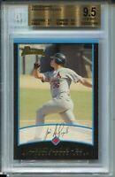 2001 Bowman Baseball #264 Albert Pujols Rookie Card RC Graded BGS Gem Mint 9.5