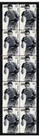 CHARLEY BURLEY BOXING LEGEND STRIP OF 10 MINT VIGNETTE STAMPS #4