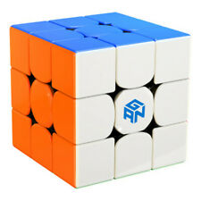 Gan356S Sitckerless 3x3x3 Magic Cube Switch Contest Twisty Puzzle Toys
