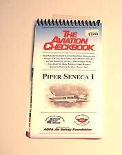 Aviation Check Book check list Piper SENECA I Nice compact booklet 20 pages