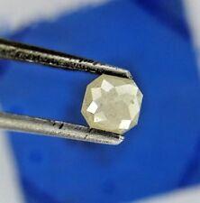 0.38TCW Loose Natural Diamond Yellow Cushion Rose cut for Wedding Ring Gift
