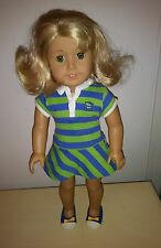 "RETIRED American Girl DOLL LANIE HOLLAND  Doll of the Year 2010 18"" Blond Curls"