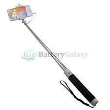 "Black 31"" Selfie Stick for ZTE Axon 7 Blade V8 X Max Grand X X3 X4 Zmax Imperial"