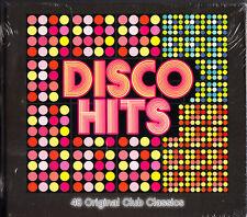 Disco Hits 4 CD Box Set Original Club Classics Best Greatest 48 Tracks
