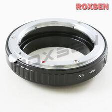 Macro Adapter for Nikon F AI Lens to Pentax K mount PK camera K200D K-5 r 01 50
