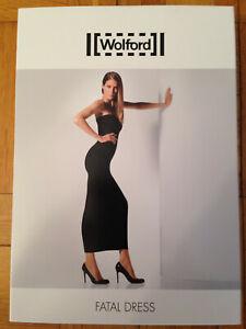 Wolford Fatal Dress Gr. M Rot-Lila Schlauchkleid Rock Top nahtlos sexy Neu OVP