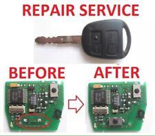 Toyota Yaris Avensis Corrolla Car Key Fob Internal Switch Repair Service